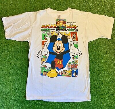 Vintage Mickey Mouse Sherry/'s Best Walt Disney Company made in USA size M 100/% Cotton T Shirt