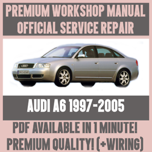 details about >workshop manual service & repair guide for audi a6 1997-2005  +wiring  >