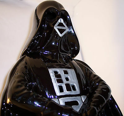 1981 ~ ceramic glowing ~ Darth Vader ~ Star Wars