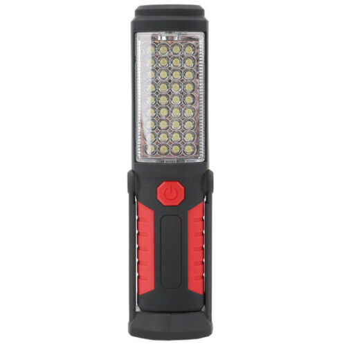 Rechargeable LED+COB Inspection Lamp Work Light Flexible Hand Torch Magnetic UK