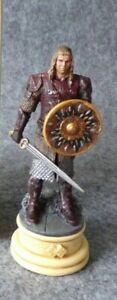LORD OF THE RINGS CHESS COLLECTION 23 EOMER EAGLEMOSS FIGURE KNIGHT MAGAZINE