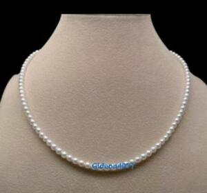 Nice-AAA-3-4mm-natural-Akoya-white-pearl-necklace-14k-Yellow-Gold-20-034