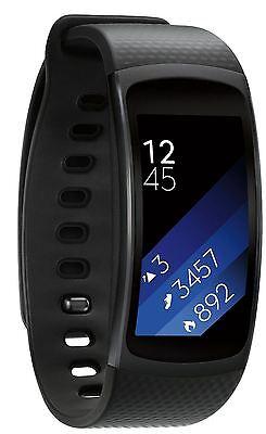 Samsung Galaxy Gear Fit 2 Retail Box Black Small Fitness Tracker Smartwatch