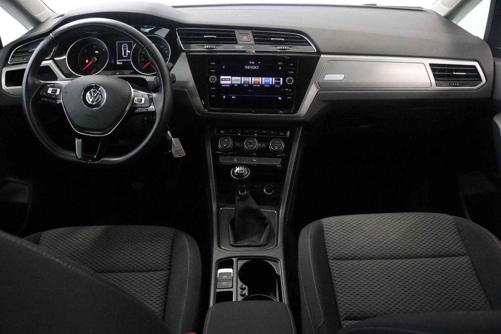 VW Touran TDi 115 Comfortline 7prs
