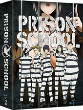 Prison School: Complete Anime Series Limited Edition DVD / BluRay Combo Set NEW!