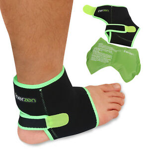 Inerzen-Ankle-Support-Hot-and-Cold-Gel-Therapy-Wrap-Reusable-Gel-Pack-Included