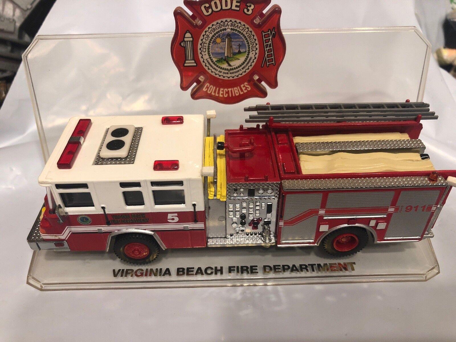 CODE 3 VIRGINIA BEACH FIRE DEPARTSieT ENGINE 5