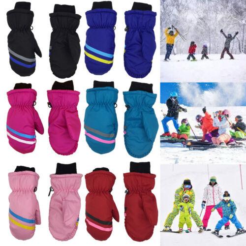Details about  /Warm Long-sleeved Mitten Outdoor Riding Snow Snowboard Children Ski Gloves