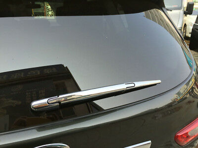 ABS Chrome Rear Window Wiper Nozzle Cover Trim For Nissan Qashqai J11 2014-2018