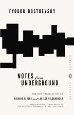 Vintage Classics: Notes from Underground by Fyodor Dostoevsky (1994, Paperback)