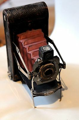 Eastman Kodak Folding Pocket Automatic No 1 A Model C Camera 1909 116 Film Ebay