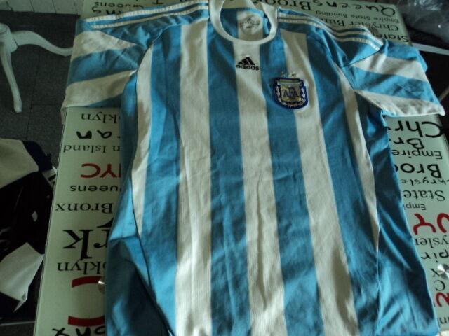 Antigua Camiseta  De Fútbol Maglia Camiseta plataina 2010 Adidas Talla Xl  barato en línea