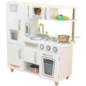 Merveilleux Image Is Loading KidKraft Vintage Wooden Play Kitchen White
