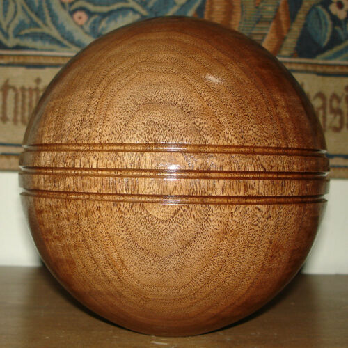 WOOD BALL FINIAL UNFINISHED FOR NEWEL POST FINIAL OR CAP 3.5 INCH Finial #3.5
