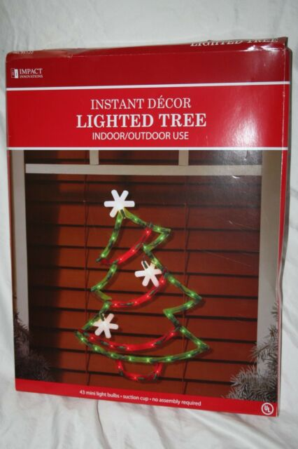 Impact Innovations Shamrock Lighted Window Decoration Indoor Outdoor Use 14 X For Sale Online Ebay
