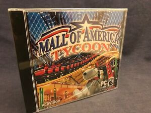 SEALED-2004-Mall-of-America-Tycoon-PC-Computer-Game-NIP-Activision-Simulation
