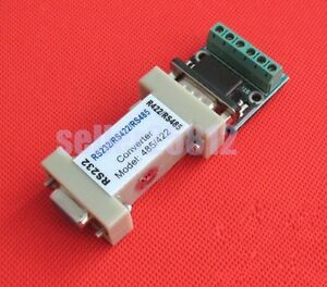 New Serial Adapter RS232 to RS422 Data Converter Communication adaptor