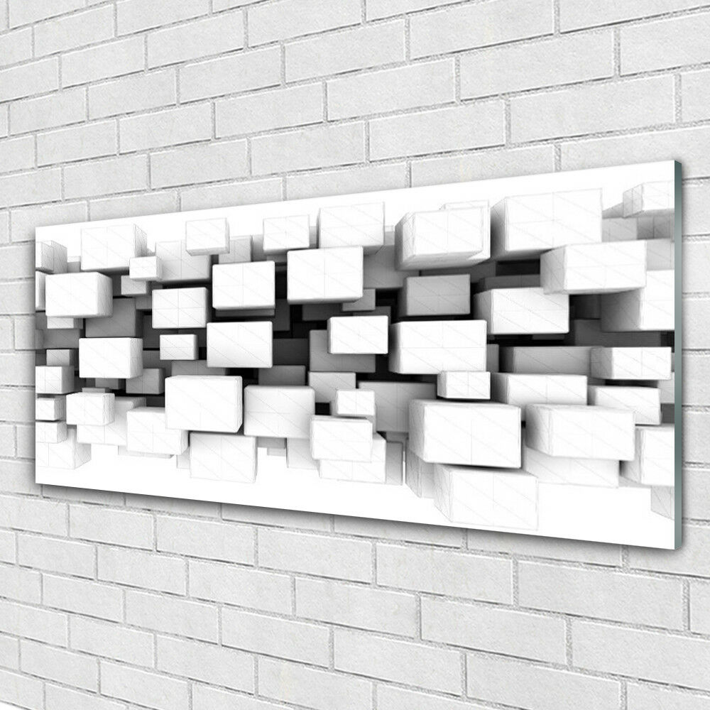 Verre Imprimer Wall Art 125x50 image photo abstrait cuisine