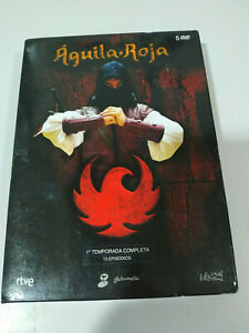 AGUILA-ROJA-PRIMERA-TEMPORADA-1-SERIE-TV-5-DVD-EXTRAS-REGION-0-MULTIZONA