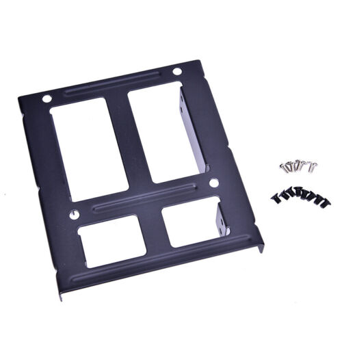 2.5 inch to 3.5 inch SSD Solid Hard Drive Bay Tray Mounting Bracket Adapter FU