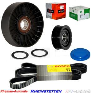 BOSCH-6PK2390-Keilrippenriemen-Rollensatz-Mercedes-W210-W203-ML-350