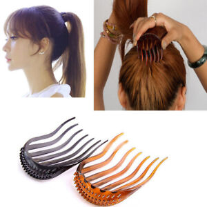Fashion-Women-Hair-Styling-Clip-Comb-Stick-Bun-Maker-Braid-Tool-Hair-Accessories