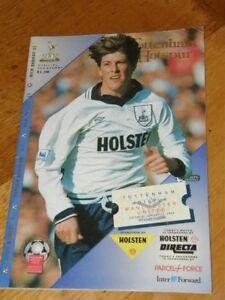 Tottenham-v-Manchester-United-Programme-Jan-15-1994-Spurs-Man-Utd-15-01-94