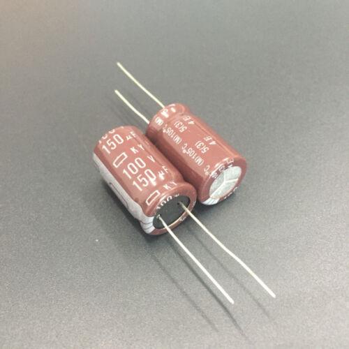 100 un 150uF 100V 12.5x20mm NCC KY de baja resistencia serie equivalente 100V150uF motherboard Condensador del PC