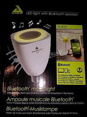 AwoX StriimLIGHT 8W/40W E26 LED Light Bulb with Integrated Bluetooth Speaker