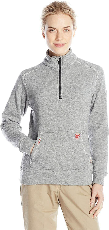 Ariat Women's Flame Resistant Polartec 1/4 Zip FleeceShirt