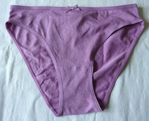 Culotte femme lingerie slip violet sous vêtement taille S ou M neuf