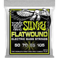 ERNIE Ball 2812 COBALT Flatwound Slinky 4-Regular string bass corde 50 - 105