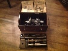 Sunnen Series 2400 Bearing Sizer Boring Tool In Metal Case Nice Shape Untested