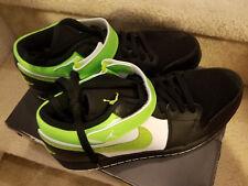 a1c7b7aac9698f item 4 New NIKE Air Jordan 1 Strap Low White Black Green Model  574420 031  Men s 10 -New NIKE Air Jordan 1 Strap Low White Black Green Model  574420  031 ...