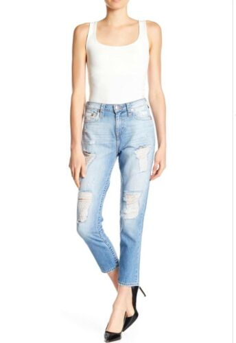 True High Rise Distressed Donna Religion Jeans rZqYr1