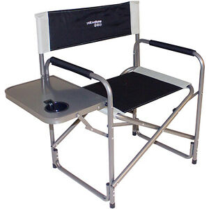 Image Is Loading Directors Chair With Side Table Folding Picnic Camping