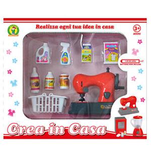 Set cucina giocattolo per bambine Crea in Casa macchina da cucire ...