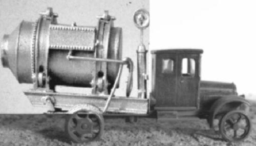 HO//HOn3 1//87 1926 WHITE CEMENT MIXER TRUCK WISEMAN MODEL SERVICES OT5057