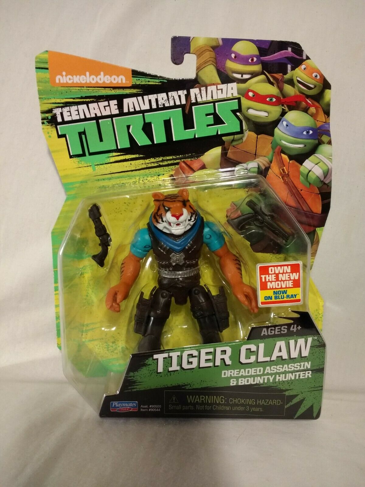 Tiger Claw Figure    TMNT Teenage Mutant Ninja Turtles