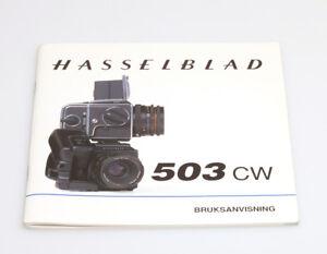 Hasselblad-503CW-Bruksanvisning-danische-Bedienungsanleitung