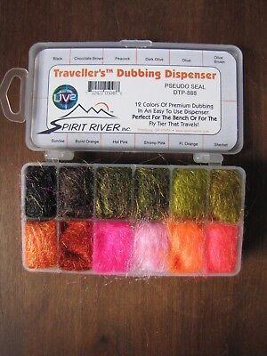 Pseudo Seal Fly Tying Spirit River UV2 Traveller/'s Dubbing Dispenser