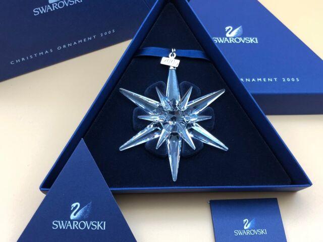 Swarovski Weihnachtsstern Ornament 2005. Neuware mit Verpackung