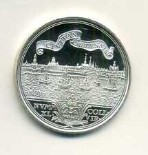 Medaille Nachprägung alter Münze 2 1/2 facher Dukat Emden von 1745 Silber M_569