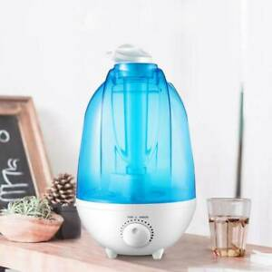 Details about MINI ULTRASONIC AIR AROMA HUMIDIFIER WITH 3 LITRE WATER TANK AND NIGHT LIGHT