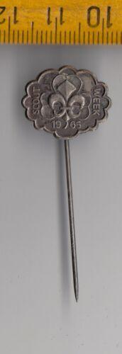 Vintage metal SCOUTING SCOUT WEEK pin badge Girls Guides Boy Scouts