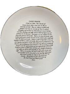 NWT-Army-cadet-Prayer-8-Ceramic-Plate-West-Point-USMA