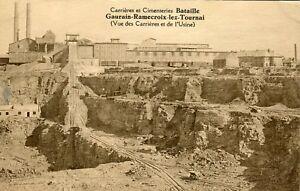Belgium-Gaurain-Ramecroix-lez-Tournoi-Gaurain-Ramecroix-L-039-Usine-sepia-postcard