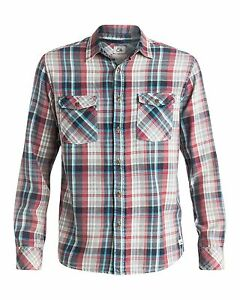 NEW-QUIKSILVER-Mens-Sunset-Visitors-Long-Sleeve-Shirt-Tops