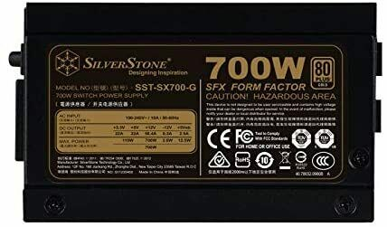 SFX form factor Silent 92mmFan wi... single +12V rails with 58.4A output 700W
