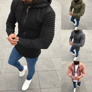 New-Fashion-Mens-Thick-Zip-Up-Hoodie-Winter-Warm-Hooded-Jacket-Jumper-Tops